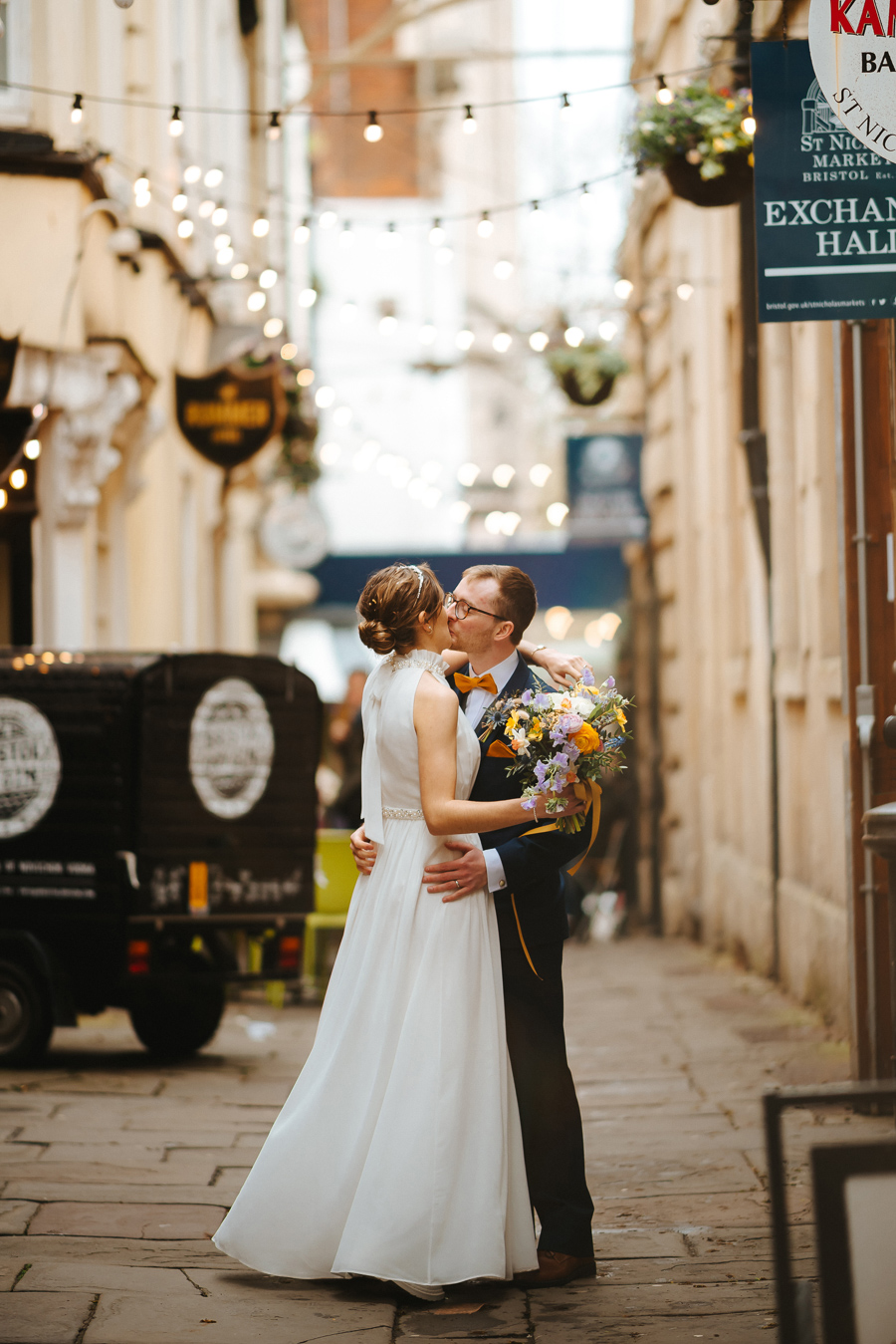 Maisie & David's beautifully simple Bristol wedding, with Joab Smith Photography (42)