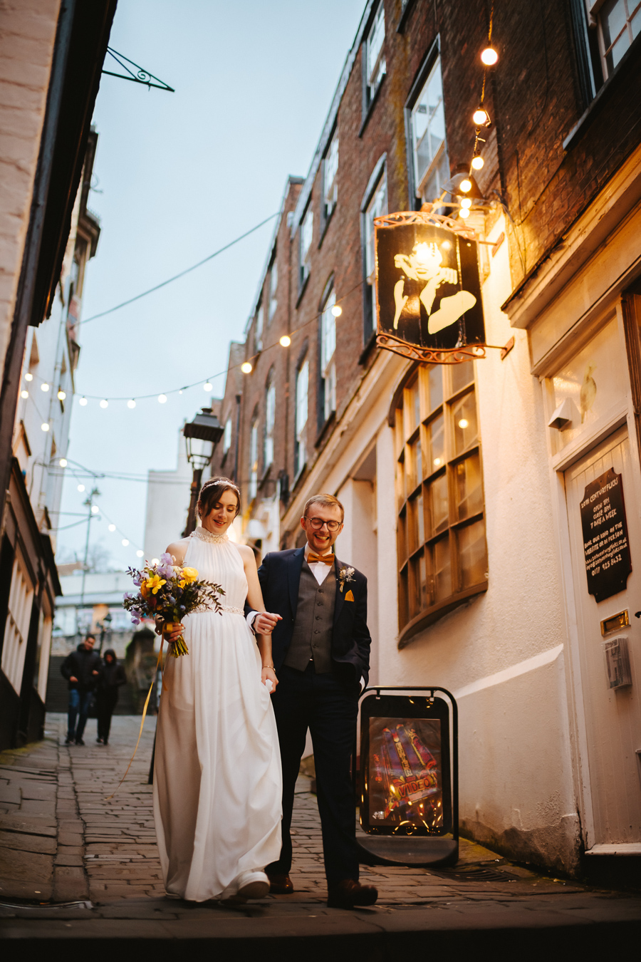 Maisie & David's beautifully simple Bristol wedding, with Joab Smith Photography (49)