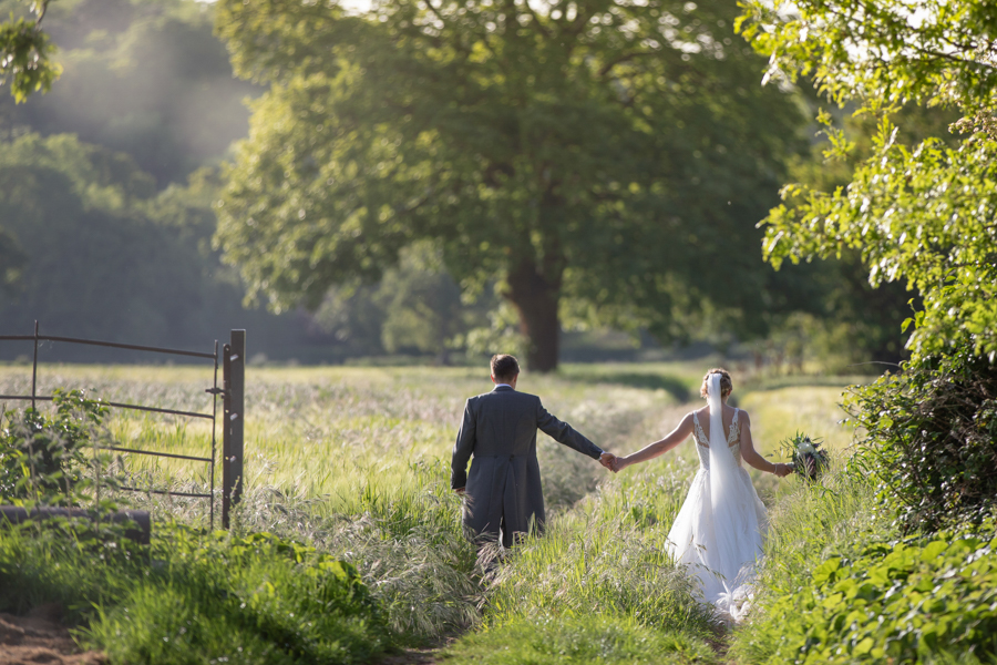 Debs and Jon evening light stroll at St Audries Park by Evolve