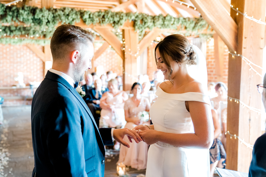 Sandie & Matt's rustic glam wedding at The Ferry House Inn, with Charlene Webb Photography (15)