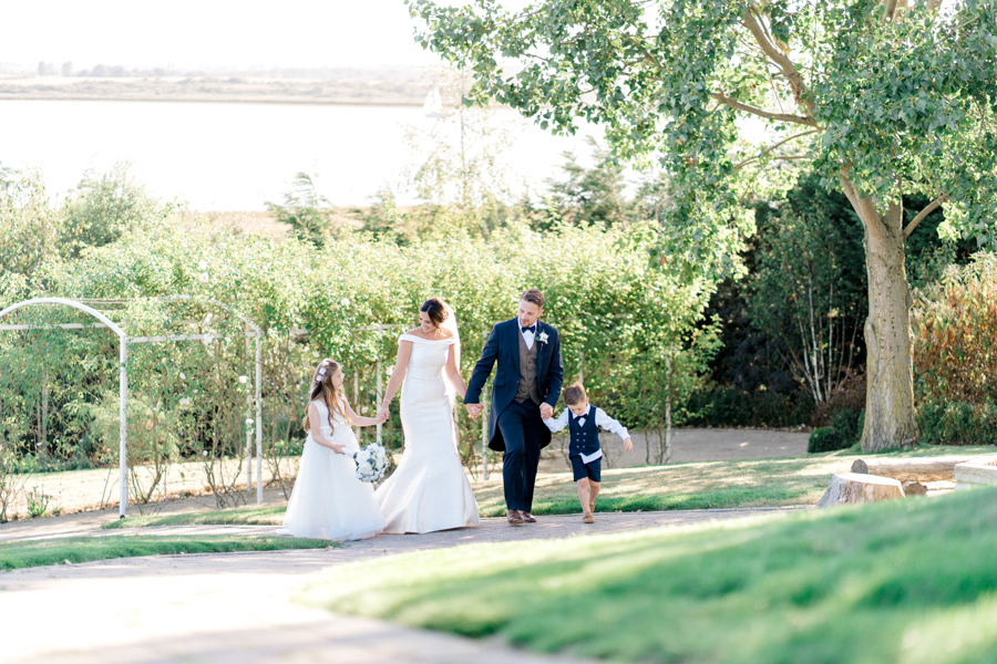 Sandie & Matt's rustic glam wedding at The Ferry House Inn, with Charlene Webb Photography (28)