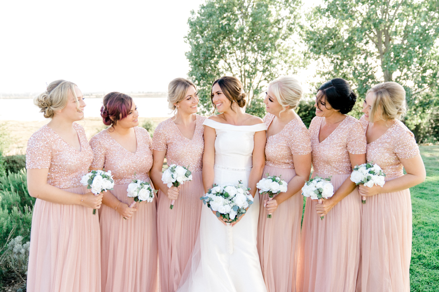Sandie & Matt's rustic glam wedding at The Ferry House Inn, with Charlene Webb Photography (33)