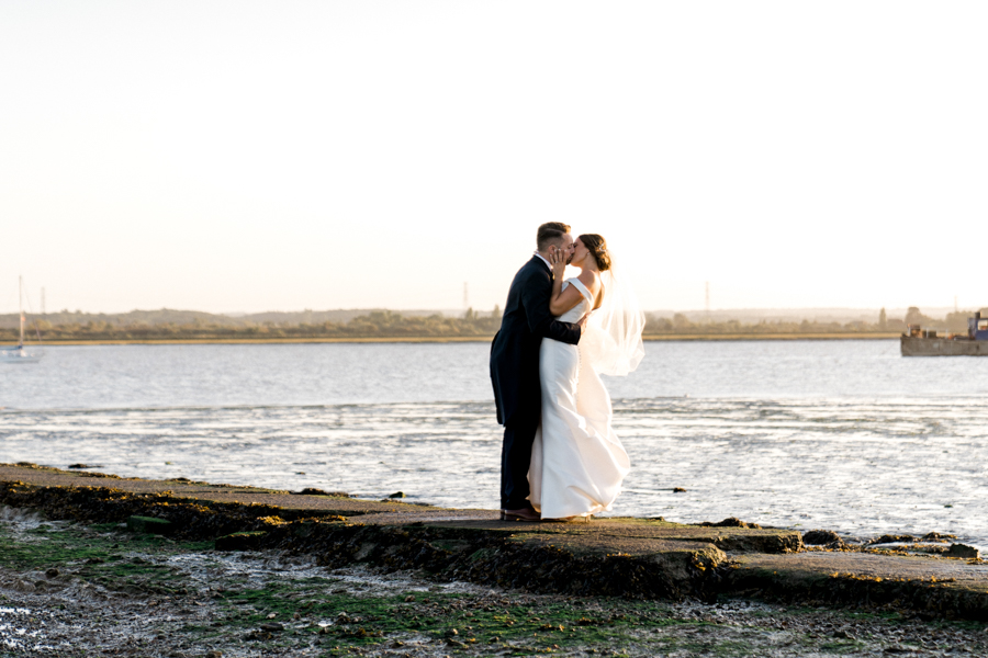 Sandie & Matt's rustic glam wedding at The Ferry House Inn, with Charlene Webb Photography (37)