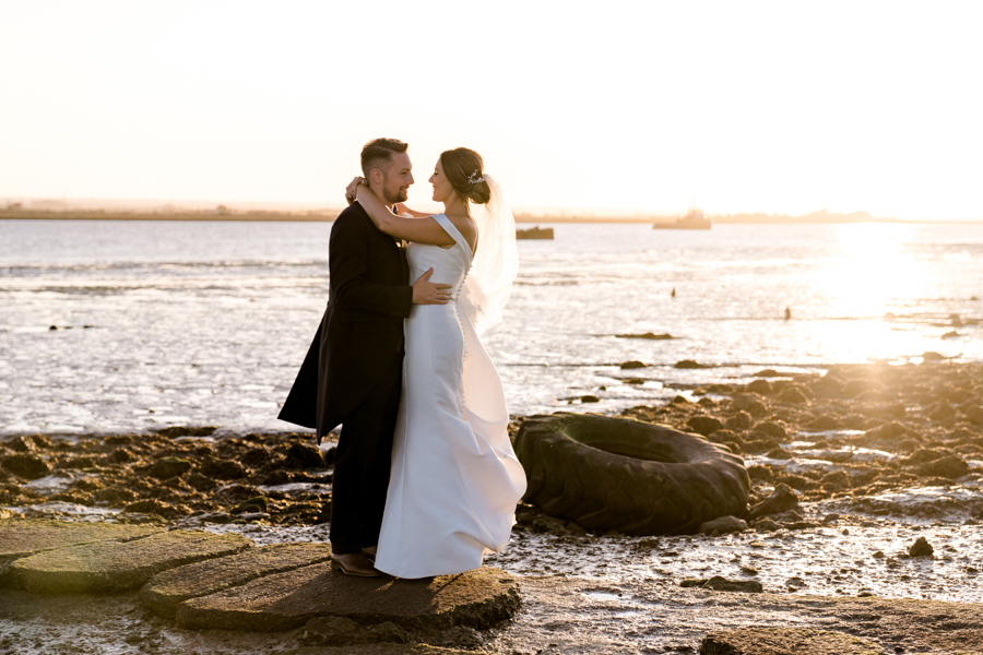 Sandie & Matt's rustic glam wedding at The Ferry House Inn, with Charlene Webb Photography (38)