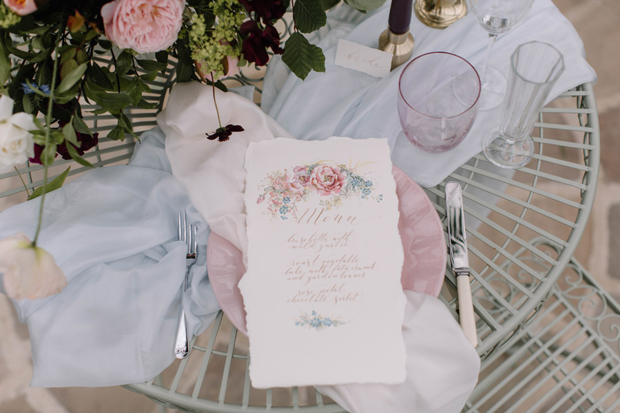 Calligraphy for weddings by Claire Gould, By Moon and Tide Calligraphy UK (5)
