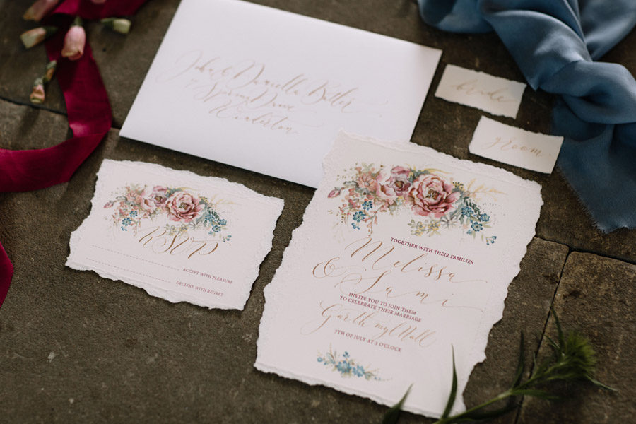 Calligraphy for weddings by Claire Gould, By Moon and Tide Calligraphy UK (7)