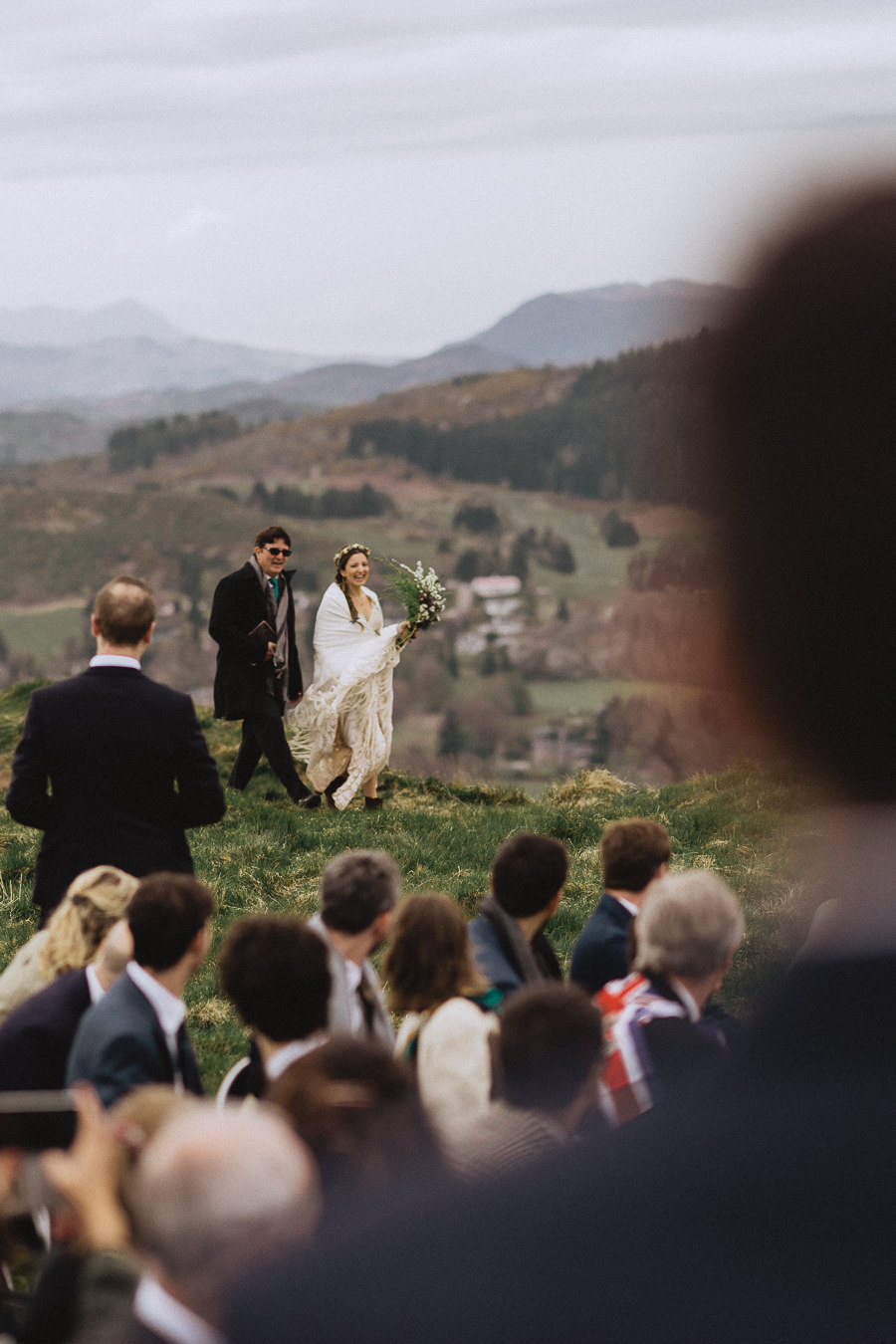 Nat & Oli's wild hilltop wedding with Fox and Bear Photography (23)