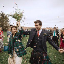 Nat & Oli's wild hilltop wedding with Fox and Bear Photography