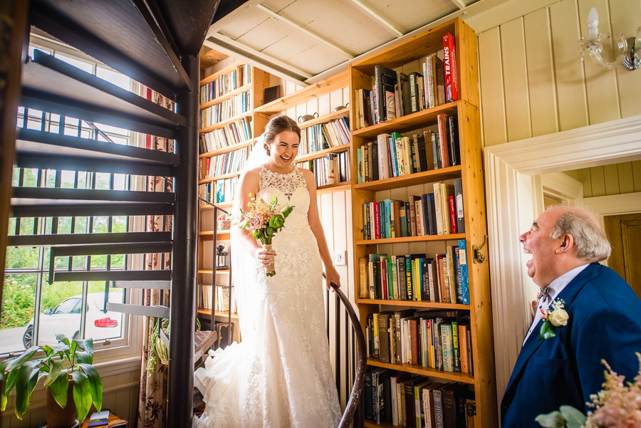 Tom & Alex's creative South Downs wedding, with GK Photography (6)