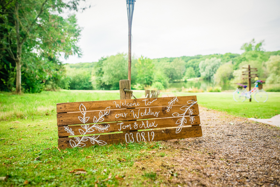 Tom & Alex's creative South Downs wedding, with GK Photography (14)