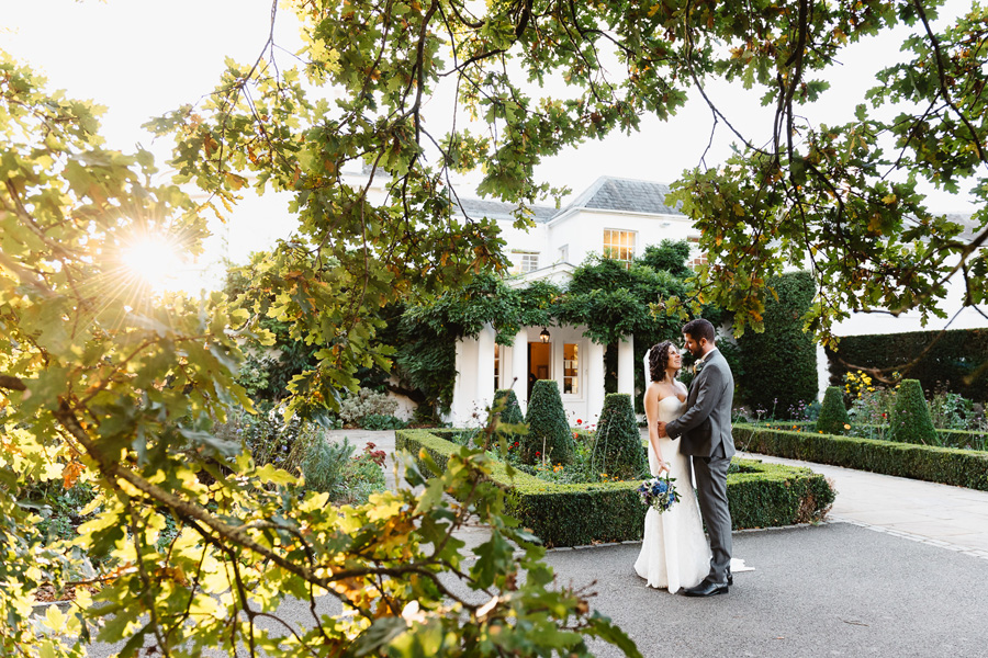 Golden Hour at Pembroke Lodge, captured by Fiona Kelly Photography