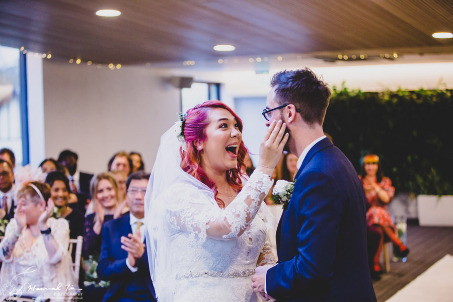 Jenny & Chris's winter wedding at Fairyhill, with Hannah Timm Photography (7)