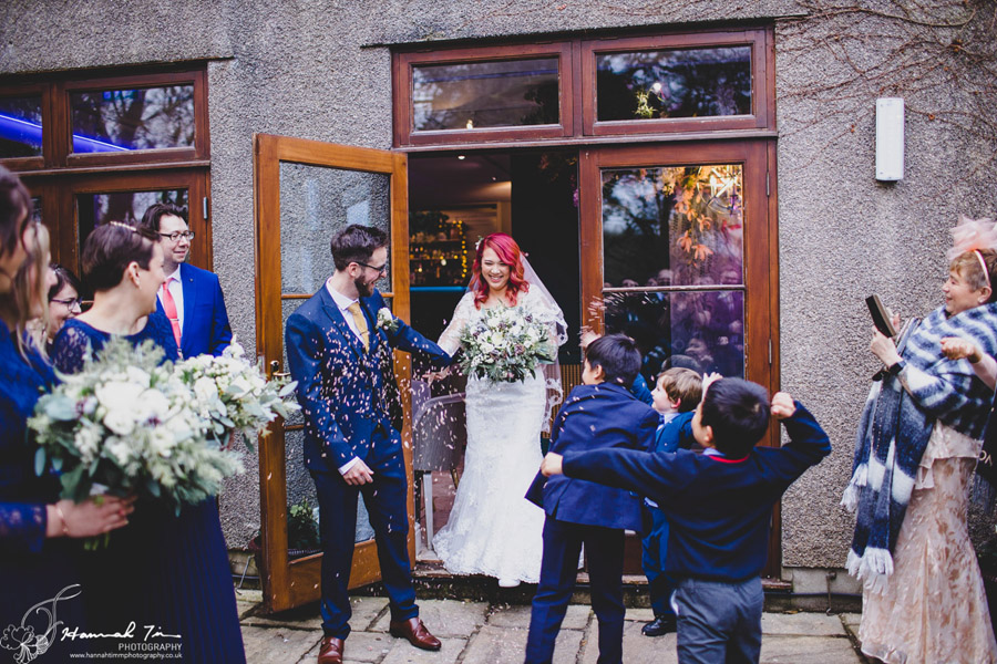 Jenny & Chris's winter wedding at Fairyhill, with Hannah Timm Photography (12)