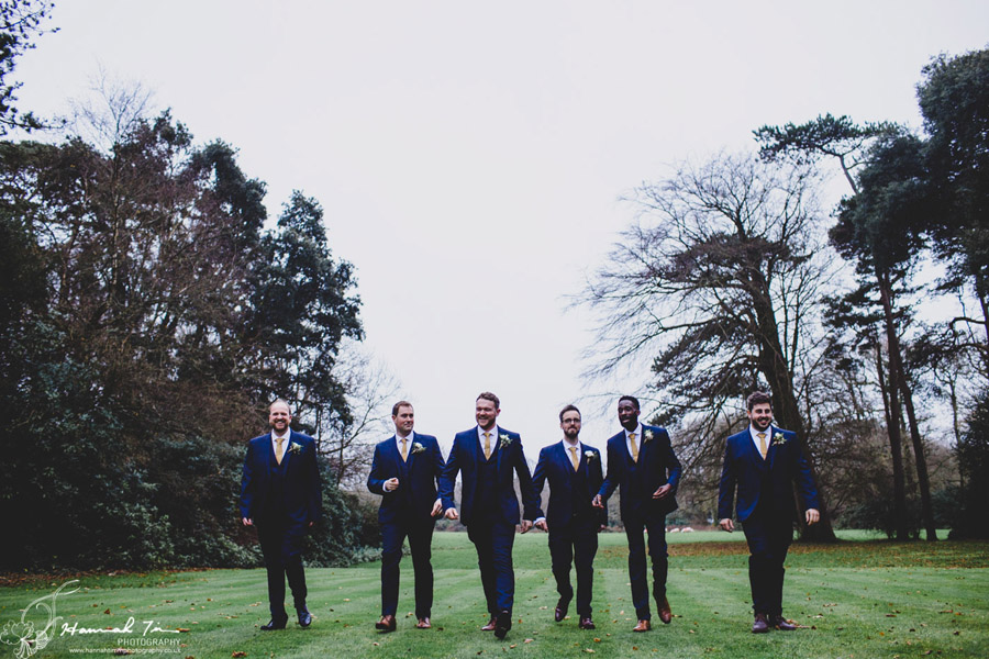 Jenny & Chris's winter wedding at Fairyhill, with Hannah Timm Photography (14)