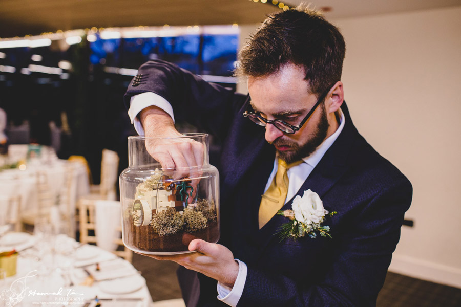 Jenny & Chris's winter wedding at Fairyhill, with Hannah Timm Photography (23)