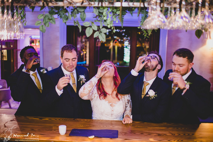 Jenny & Chris's winter wedding at Fairyhill, with Hannah Timm Photography (26)
