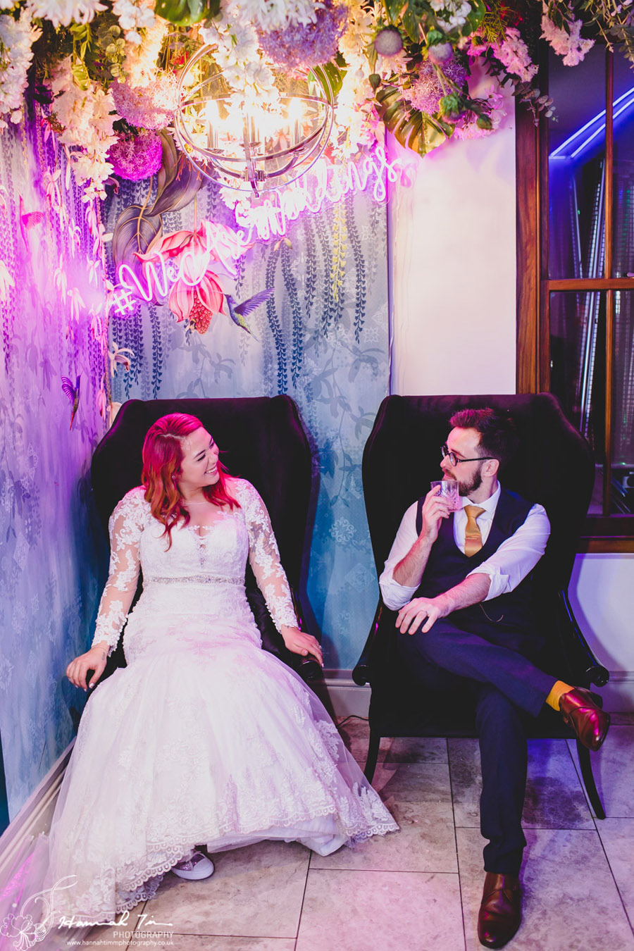 Jenny & Chris's winter wedding at Fairyhill, with Hannah Timm Photography (30)
