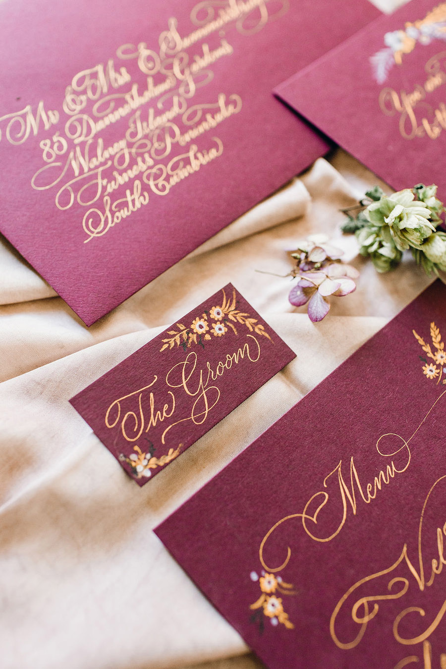 Calligraphy for weddings by Claire Gould, By Moon and Tide Calligraphy UK (10)