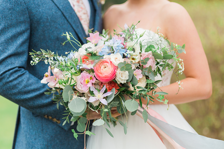 "Country Dreams""-A Baroque Inspired, modern romantic English Country wedding shoot with soft pinks and powder blues infused with antique gold. (14)"