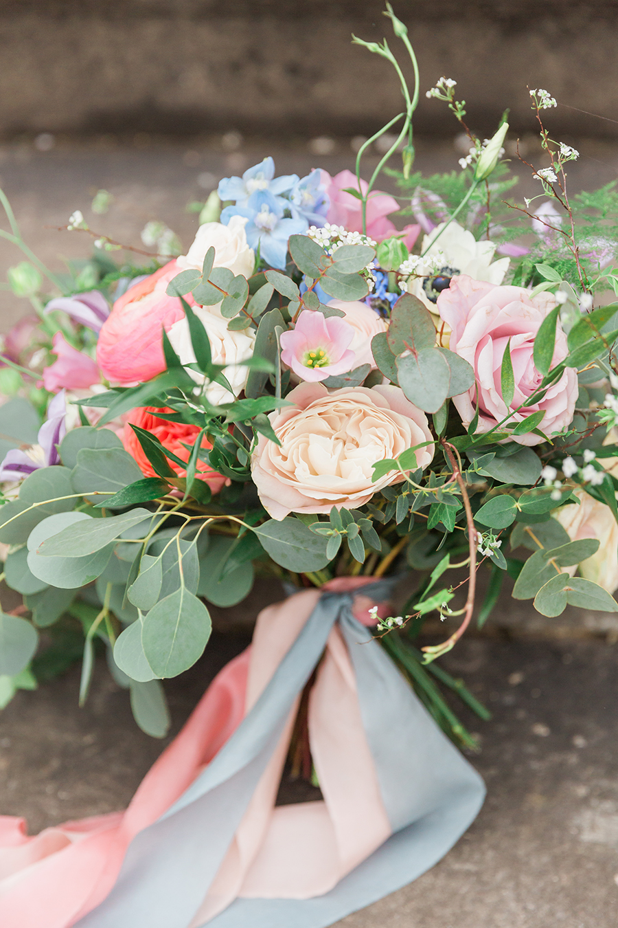 "Country Dreams""-A Baroque Inspired, modern romantic English Country wedding shoot with soft pinks and powder blues infused with antique gold. (2)"