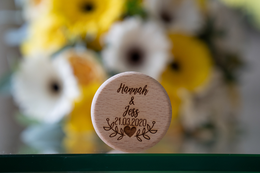 Hannah & Jess's rustic spring wedding at The Green, Cornwall, with Evolve Photography (11)
