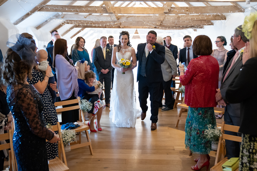 Hannah & Jess's rustic spring wedding at The Green, Cornwall, with Evolve Photography (17)