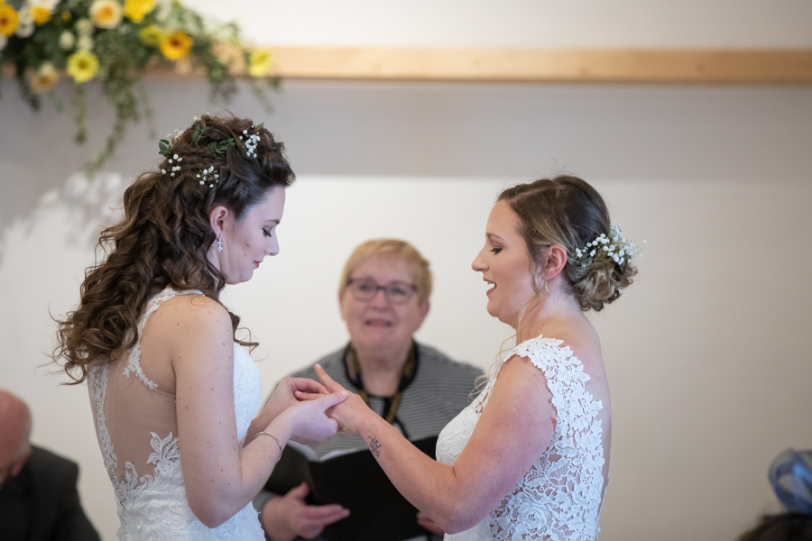 Hannah & Jess's rustic spring wedding at The Green, Cornwall, with Evolve Photography (21)