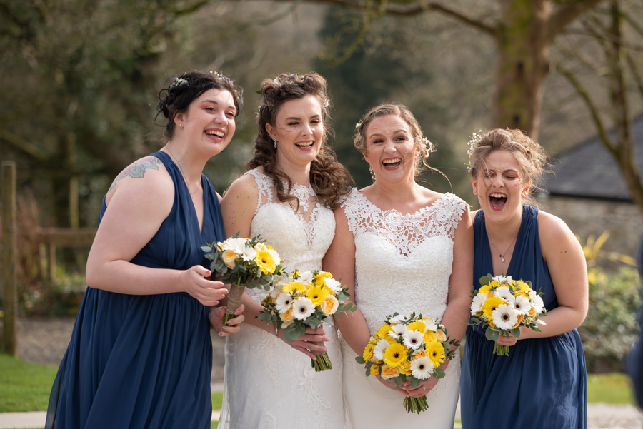 Hannah & Jess's rustic spring wedding at The Green, Cornwall, with Evolve Photography (26)