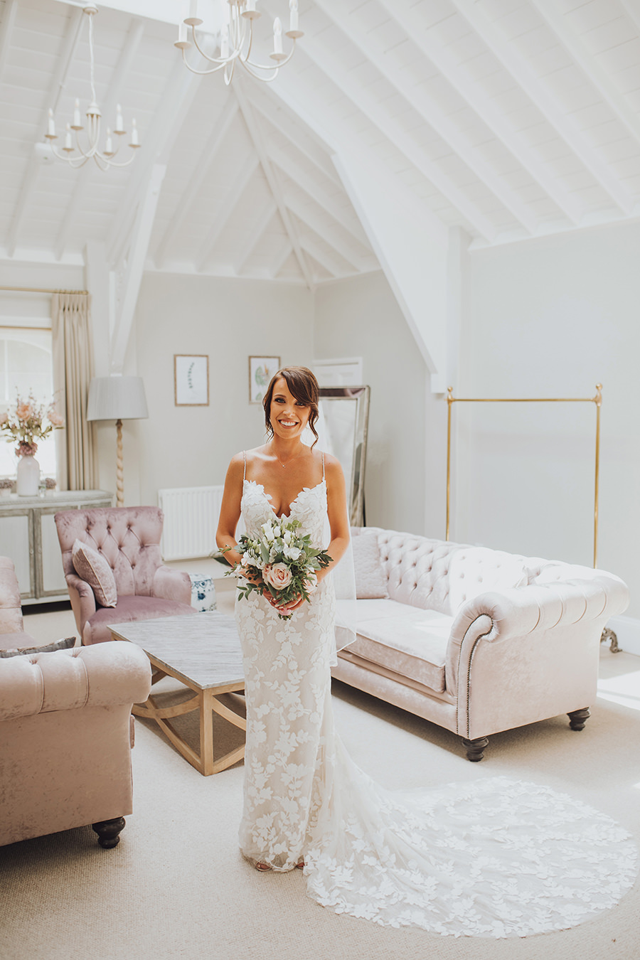 Yasmin & Mark's chic modern Kent wedding with Honeydew Moments (11)