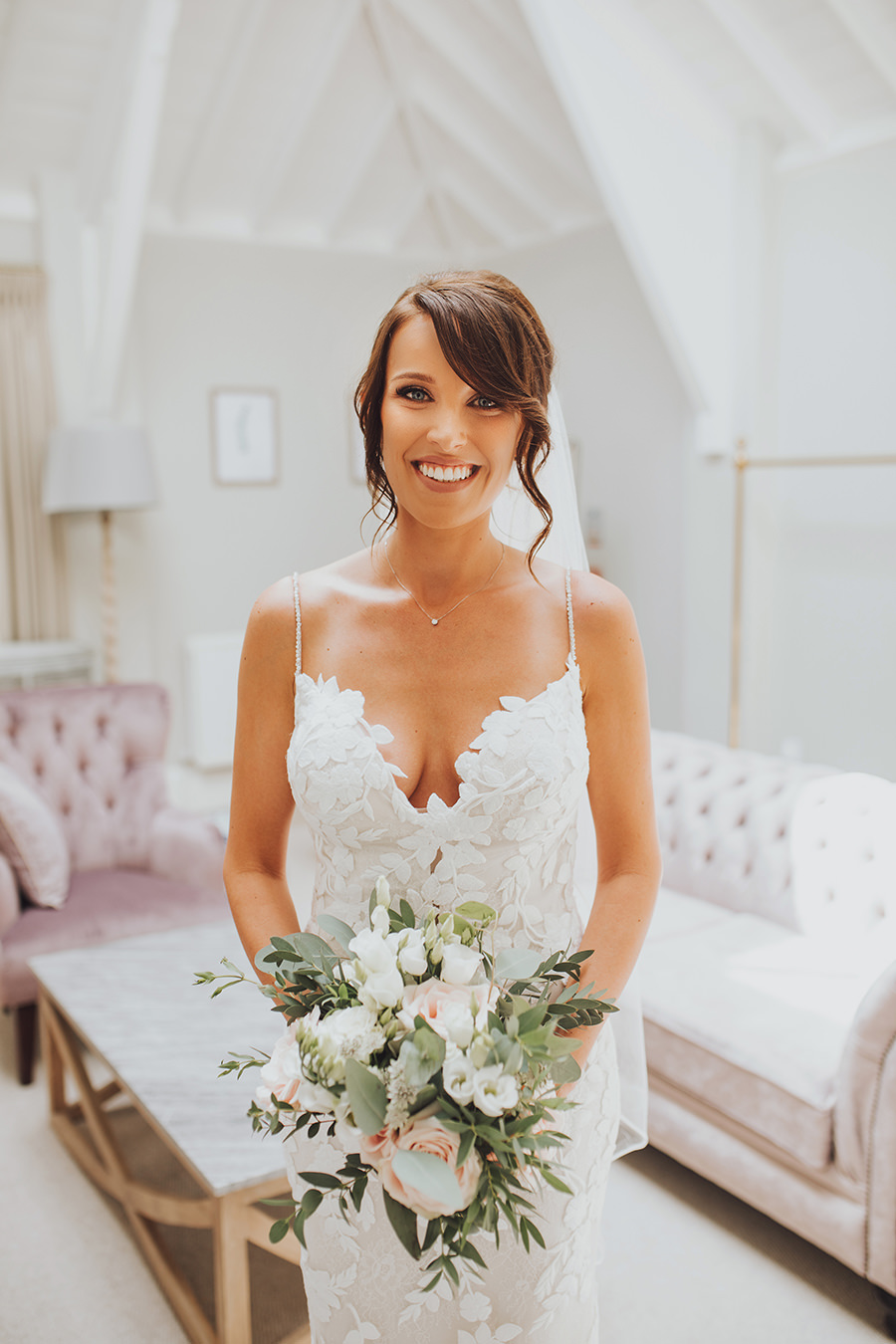 Yasmin & Mark's chic modern Kent wedding with Honeydew Moments (12)