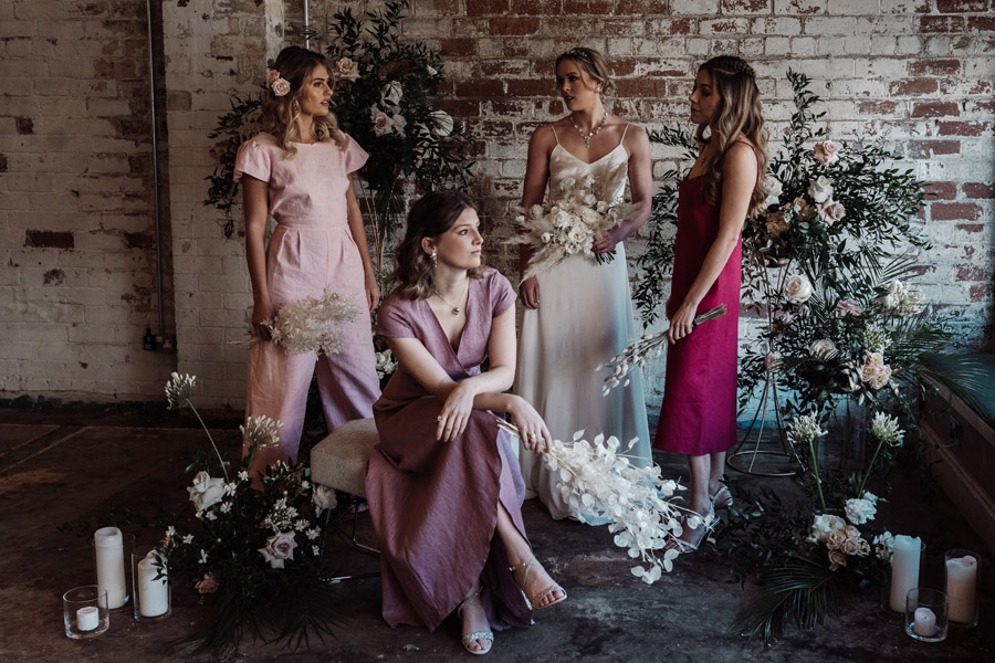 Sustainable, new and different bridesmaids' outfits by Luna Bride on English-Wedding.com (15)