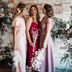 Gorgeous new ethical bridesmaids' outfits by Luna Bride