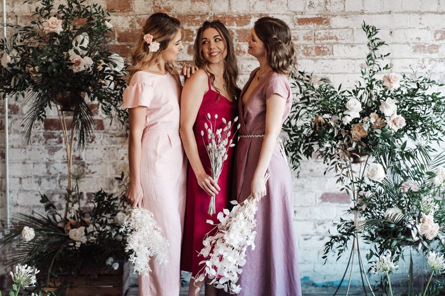 Sustainable, new and different bridesmaids' outfits by Luna Bride on English-Wedding.com (10)