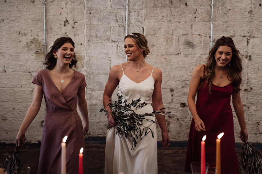Sustainable, new and different bridesmaids' outfits by Luna Bride on English-Wedding.com (2)