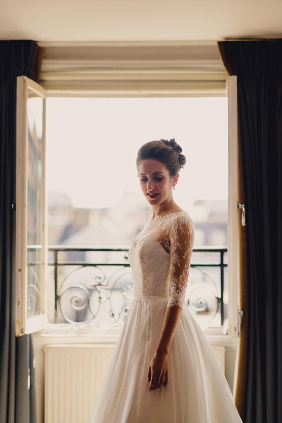Abbie & Alastair's exclusive London Savile Club wedding, with MIKI Studios (6)
