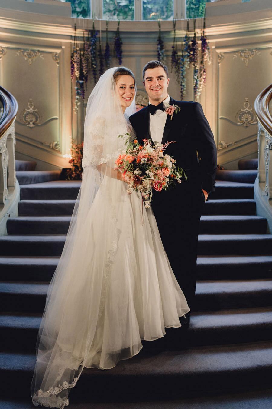 Abbie & Alastair's exclusive London Savile Club wedding, with MIKI Studios (20)