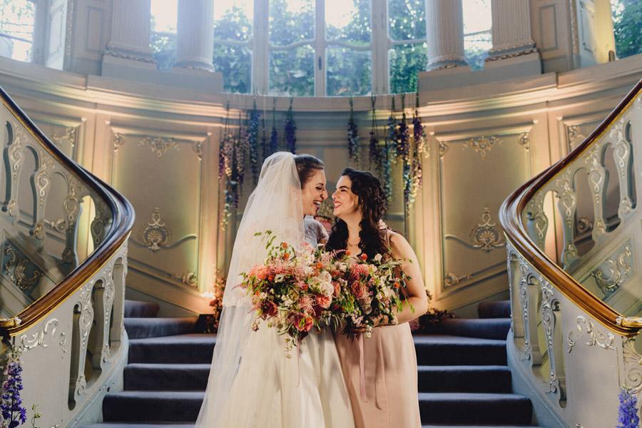 Abbie & Alastair's exclusive London Savile Club wedding, with MIKI Studios (21)