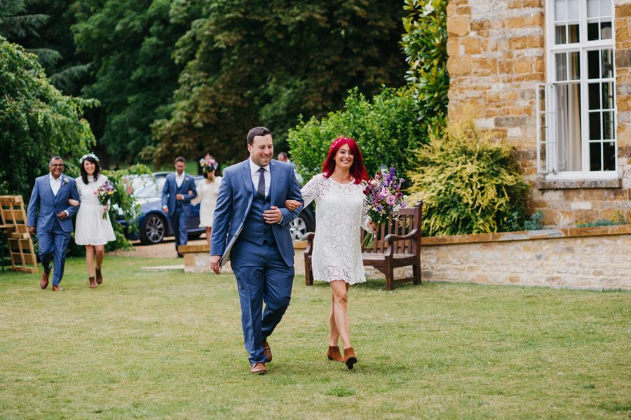 Nicola & Alex's joyful festival and tipi wedding at Talton Lodge, with John Hope Photography (9)