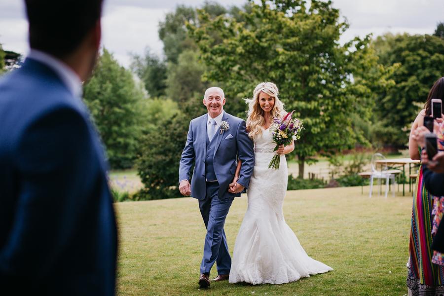 Nicola & Alex's joyful festival and tipi wedding at Talton Lodge, with John Hope Photography (10)