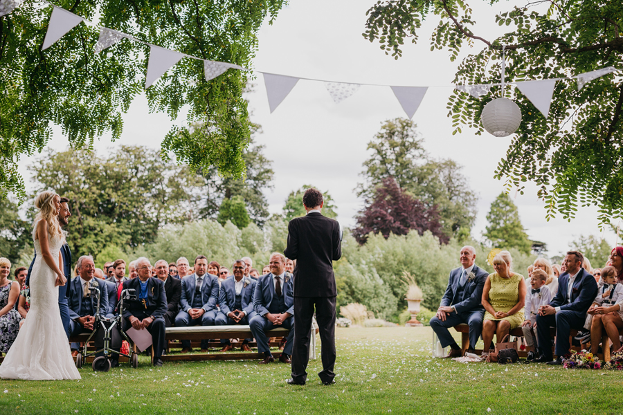 Nicola & Alex's joyful festival and tipi wedding at Talton Lodge, with John Hope Photography (13)