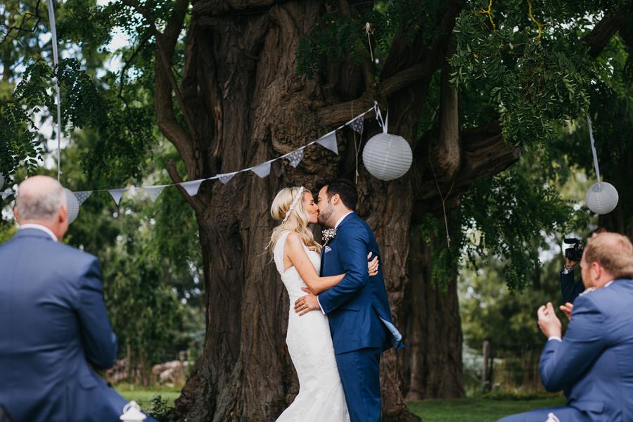 Nicola & Alex's joyful festival and tipi wedding at Talton Lodge, with John Hope Photography (16)