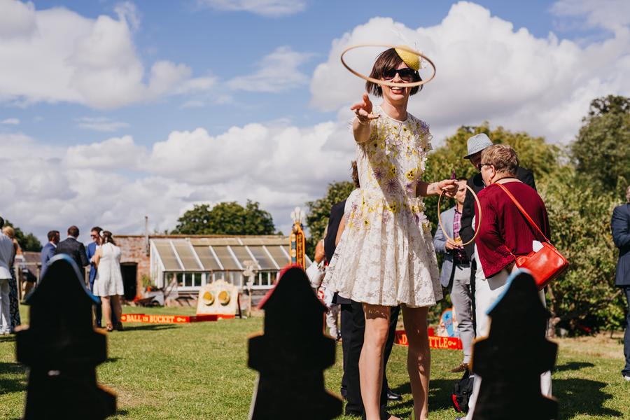 Nicola & Alex's joyful festival and tipi wedding at Talton Lodge, with John Hope Photography (27)