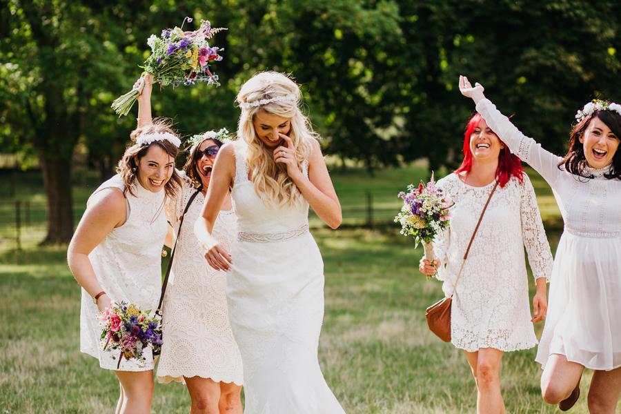 Nicola & Alex's joyful festival and tipi wedding at Talton Lodge, with John Hope Photography (29)