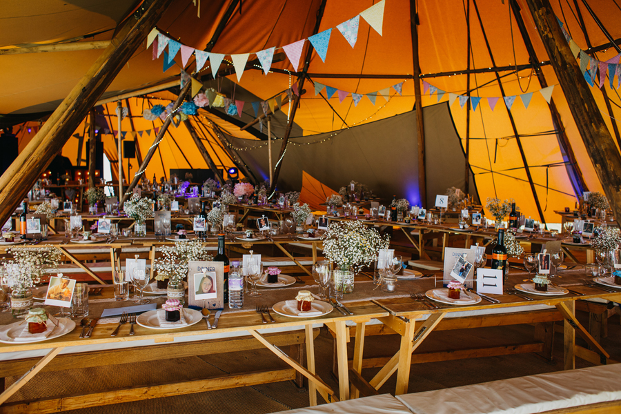 Nicola & Alex's joyful festival and tipi wedding at Talton Lodge, with John Hope Photography (34)