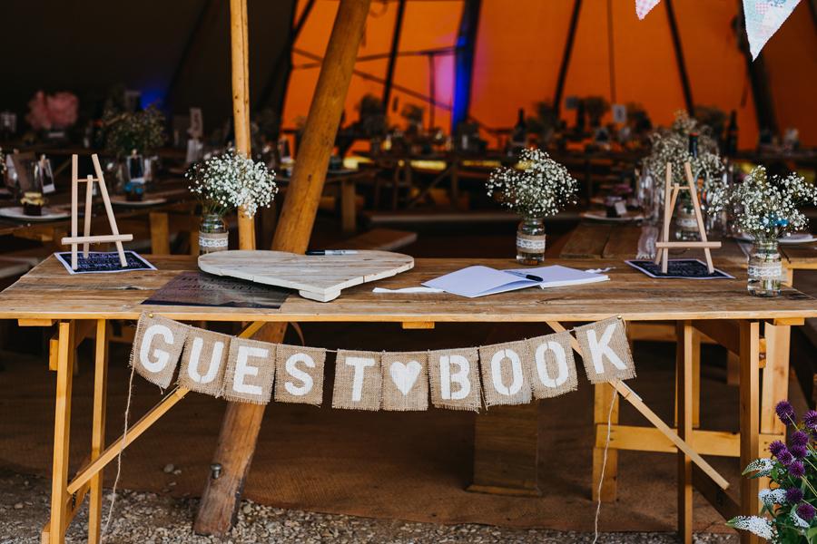 Nicola & Alex's joyful festival and tipi wedding at Talton Lodge, with John Hope Photography (36)