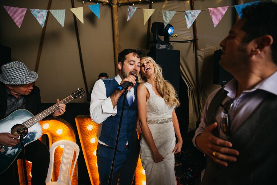 Nicola & Alex's joyful festival and tipi wedding at Talton Lodge, with John Hope Photography (48)