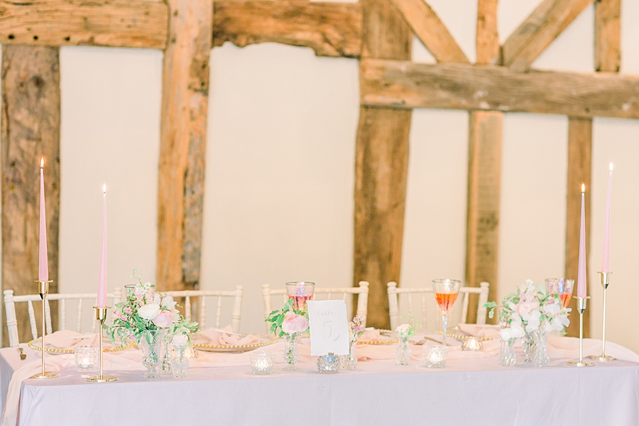 Timeless Elegance - a classic pink wedding editorial from Old Brook Barn (22)