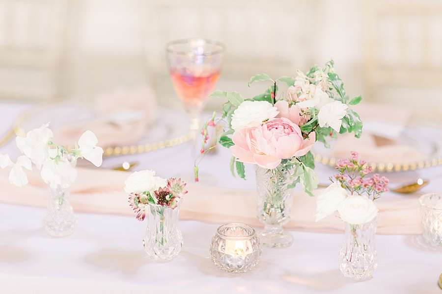Timeless Elegance - a classic pink wedding editorial from Old Brook Barn (34)