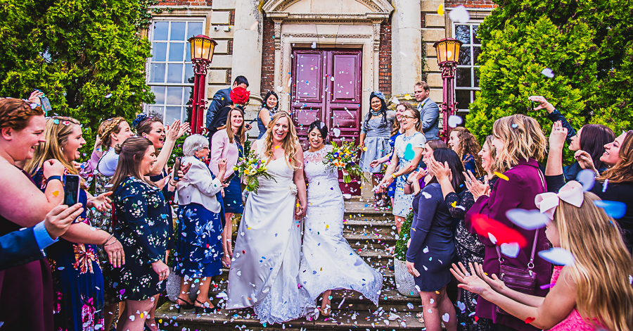REal Wedding at Ansty Hall in Cambridge captured by Damien Vickers Photography