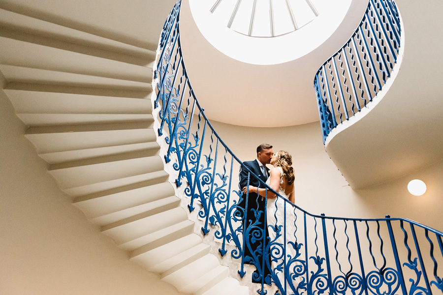 Real Wedding at Queens House, captured by Fiona Kelly Photography